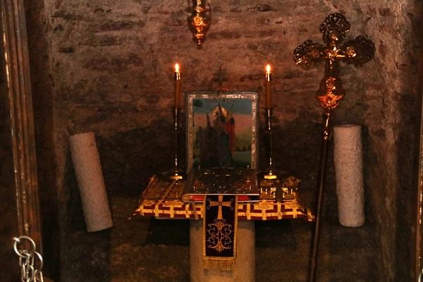 Η Αγία Μαρινα του Κάστρου στο Διδυμοτειχο.